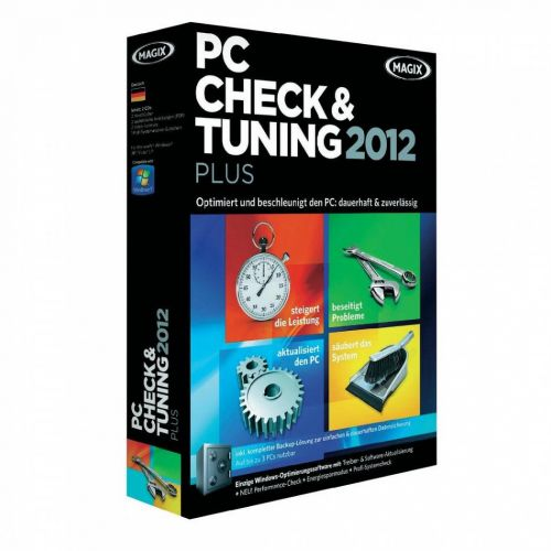 MAGIX PC Check And Tuning 2012 7.0 box