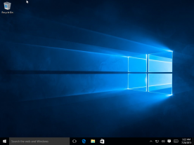 Microsoft Windows 10 Professional Final screenshot