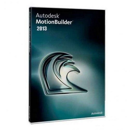 Autodesk Motionbuilder 2015 64-bit box