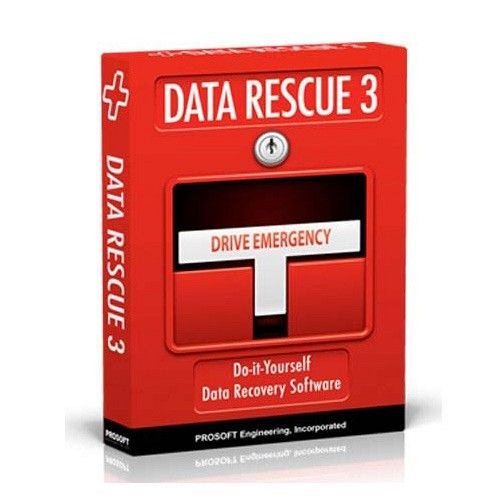 Data Rescue 3.2.1 for macOS box