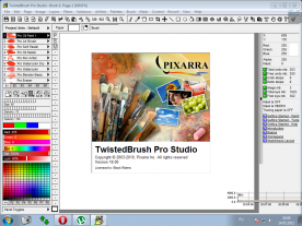 Pixarra TwistedBrush Pro Studio 18 about