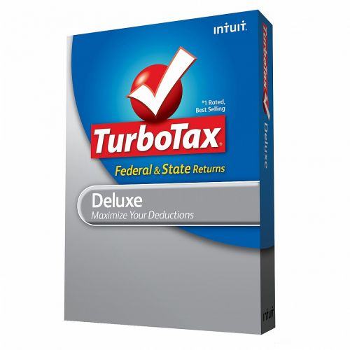 TurboTax Deluxe 2011 for macOS box