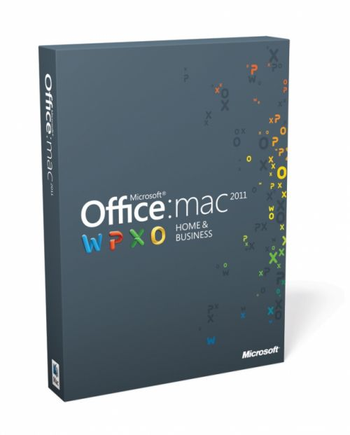 Microsoft Office 2011 with SP1 for macOS box