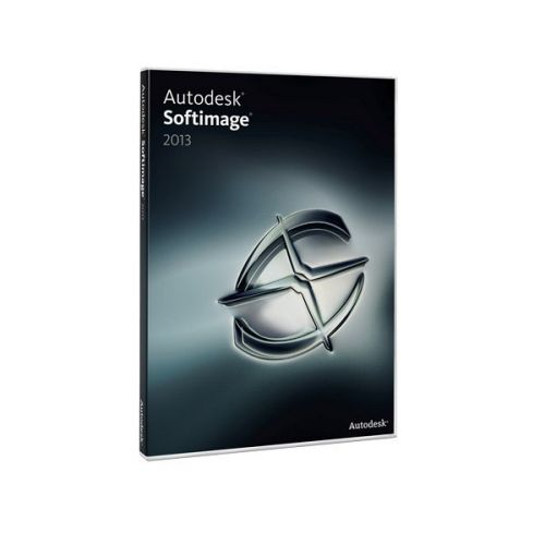 Autodesk Softimage 2015 x64 box