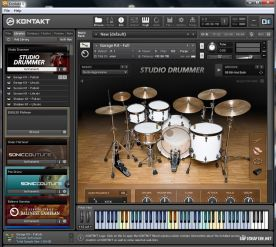 Native Instruments Studio Drummer Kontakt screenshot