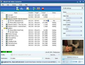 Xilisoft HD Video Converter 6.7 screenshot