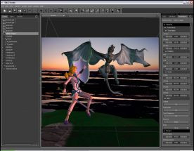 DAZ3D Daz Studio Pro 4.0 screenshot