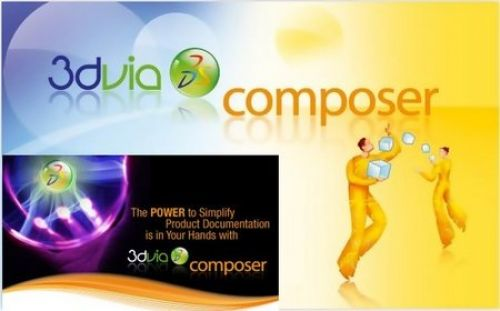 Dassault Systemes 3DVIA Composer 6R2012 6.8.2.1682 with SP1 64-bit box
