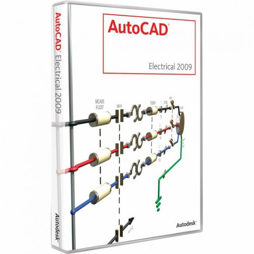 Autodesk AutoCAD Electrical 2009 box