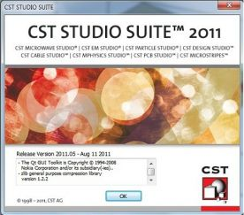 CST Studio Suite 2011 about