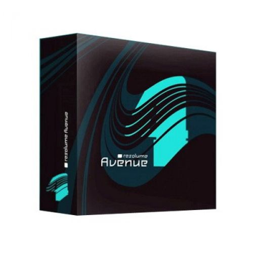 Resolume Avenue 4.1.11 for Mac box