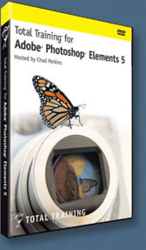 Total Training Photoshop Elements 9 Whats New box