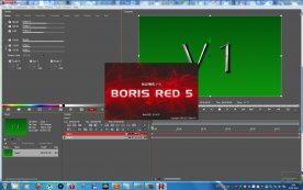Boris RED 5.1 x64 screenshot
