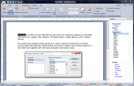 Corel Home Office 5.0 screenshot