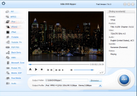 OdinShare Odin DVD Ripper 7.6 screenshot