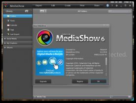 CyberLink MediaShow Ultra 6.0 screenshot