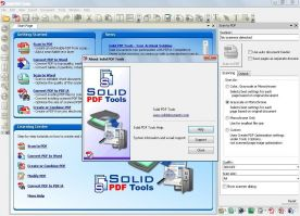 Solid Documents Solid PDF Tools 7.1 screenshot