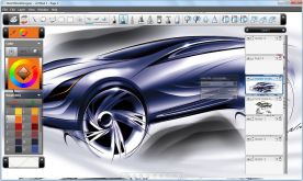 Autodesk Sketchbook Designer 2013 screenshot