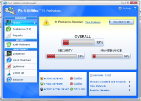 Avanquest Fix It Utilities Pro 12.0 screenshot
