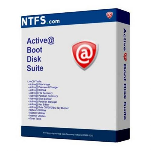 Active BootDisk Suite 7.1 box