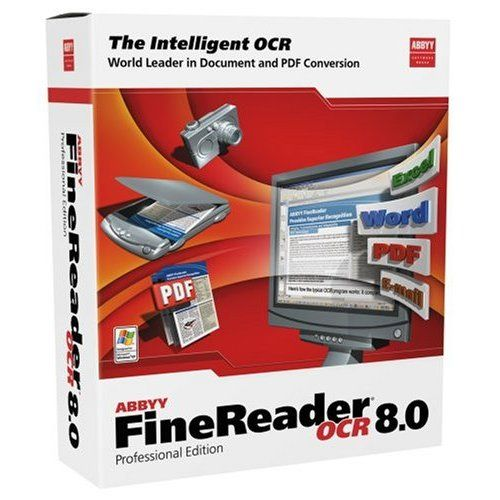 ABBYY FineReader Professional and Corporate 11.0.102.583 box