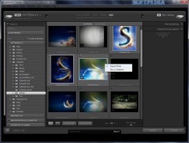 Adobe Photoshop Lightroom 3.5 import