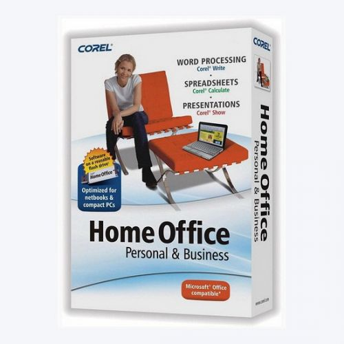 Corel Home Office 5.0.120 box