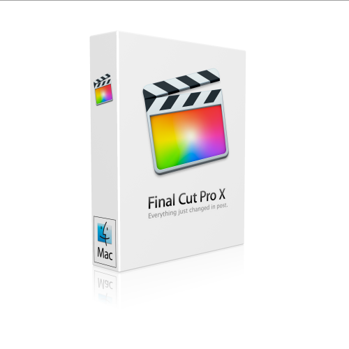 Apple Final Cut Pro X 10.2.2 for Mac box