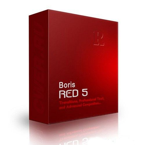 Boris RED 5.1.5 box