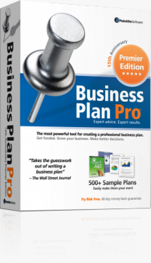 Features of Business Plan Pro
