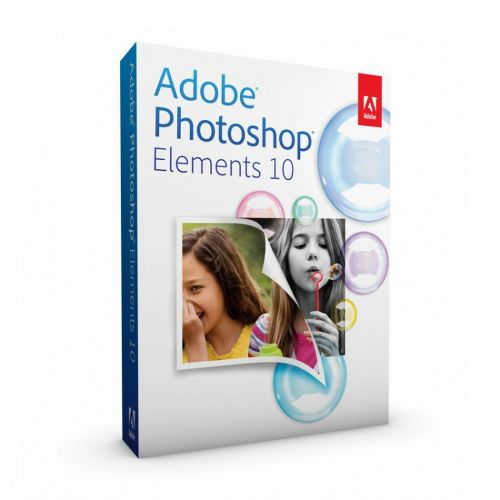 Adobe Photoshop Elements Multilingual 10.0 for Windows for macOS box