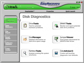 Ontrack EasyRecovery Pro 6.2 screenshot