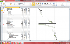 Microsoft Project Pro 2010 screenshot