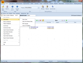 PGCSoft CRM Express Pro 2011.11 screenshot