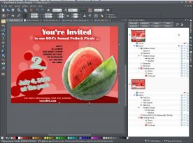 Xara Photo And Graphic Designer 7.1 screenshot