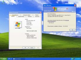Microsoft Windows XP screenshot