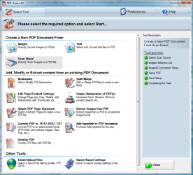 Tracker Software PDF-Tools 4.0 screenshotTracker Software PDF-Tools 4.0 screenshot