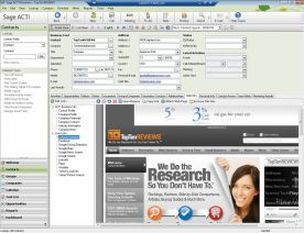 Sage ACT! Premium 2012 14.0 screenshot