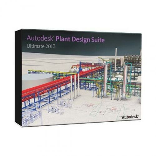 Autodesk Plant Design Suite Ultimate 2017 64-bit box