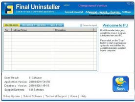 Final Uninstaller 2.6 screenshot