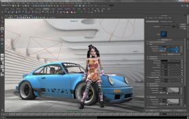 Autodesk Maya 2013 x64 screenshot