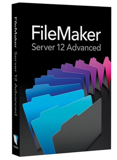 FileMaker Server Advanced 12.0.1 box