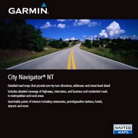 Garmin City Navigator Western Europe NT 2012 screenshot
