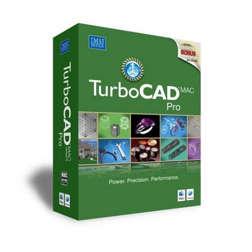 IMSI TurboCAD Mac Pro 8.0.0 for Mac box
