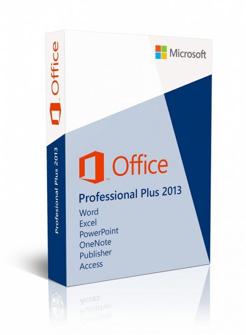 Microsoft Office Professional Plus 2013 box