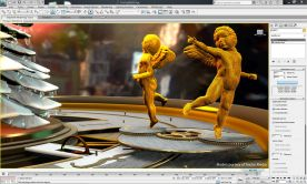 Autodesk 3DS Max Design 2012 SAP screenshot