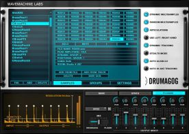 Wavemachine Labs Drumagog Platinum 5.1 Library Addon screenshot