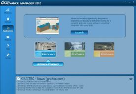 Graitec Advance Suite 2012 screenshot