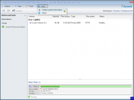 Acronis Disk Director Advanced Server 11.0 screenshot