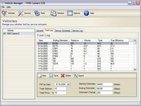 Kaizen Software Vehicle Manager 2012 Fleet Network Edition 2.0 screenshot
